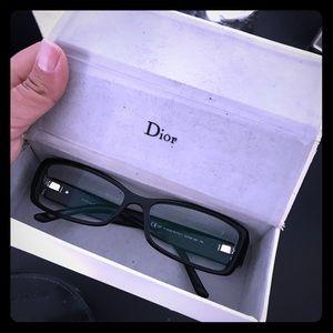 DIOR 🌸Eye glasses Black 🤓